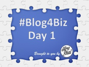 Blog4Biz Day 1